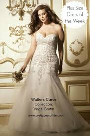 plus size fit and flare wedding dress plus size wedding dress of the week gown style 11316 the