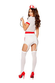 doctors naughty assistant 3pc nurse costume