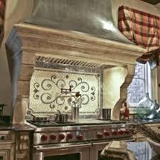 Tuscan Kitchen Backsplash Kitchen U0026 Dining Enhance Kitchen Decor With Mosaic Backsplash