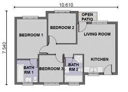 simple 3 bedroom house plans 3 room house plan internetunblock us internetunblock us