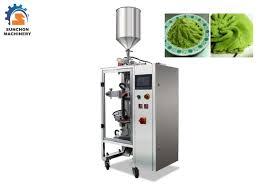 machine a cuisiner เคร องบรรจ ซองอ ตโนม ต ขนาด 1 50 กร มสำหร บบรรจ วาซาบ อาหารเหลว