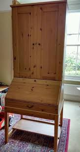 ikea alve bureau ikea hemnes alve desk bureau shelving unit in huntingdon