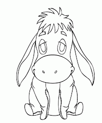 baby eeyore coloring pages ba pooh coloring pages disney coloring