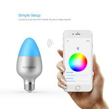 wi fi enabled smart led light bulb koogeek com