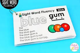 how to build sight word fluency