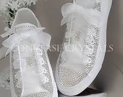 wedding shoes halifax wedding converse etsy