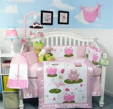 bedroom nursery themes for girls with infant bedding