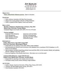 Public Relations Resume Samples by Public Relations Resume Examples 2015 You Need A Resume That