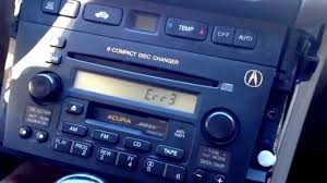 2013 2002 acura tl radio code youtube
