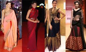 reception sarees for indian weddings saree in different styles six best ideas for you