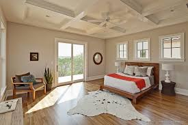 coffered ceiling paint ideas bedroom transitional with white wood