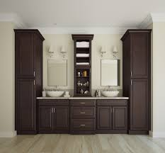 regency espresso kitchen cabinet
