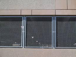 Basement Window Security Bars by Wire Mesh Window Guard