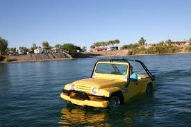 watercar python watercar gator an amphibious vw beetle based jeep lookalike for