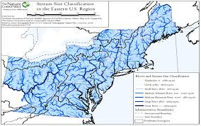 Northeast Map Usa by A Guide To The Aquatic Habitat Map Rcngrants Org