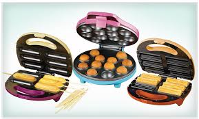 cake pop maker groupon 12 for nostalgia electrics cake pop churro or snack on