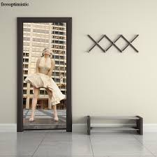 Marilyn Monroe Bedroom by Aliexpress Com Buy 2017 New 2pcs Set Wall Stickers Marilyn