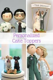 personalized cake topper personalized wedding cake toppers guaranteed smiles