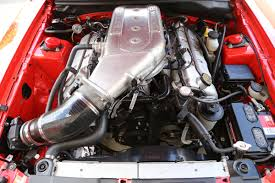 modded cars engine driving a 431hp 2000 cobra r modded with prototype parts