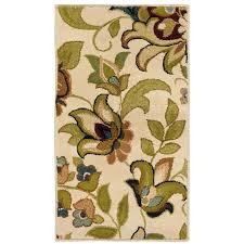 Green Throw Rug Shop Oriental Weavers Of America Isabella Ivory Rectangular Indoor