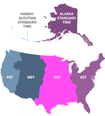 Oc Proposed Simplified Time Zone by Us Time Zone Map Alaska