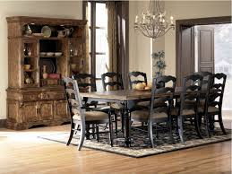 dark rustic dining table rustic dining room rugs modern white upholstered dining chair