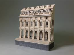 Carlyle Court Nyu Floor Plan A Hand Made Plaster Architectural Model Of The Palais Royale