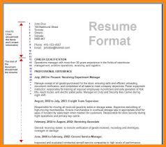 Email For Job Application With Resume by Job Application Resume Format 6 Resume Format For Job