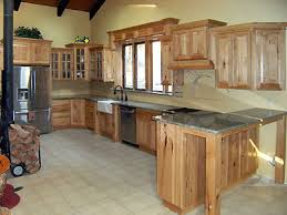 Red Mahogany Kitchen Cabinets Hickory
