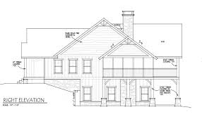 Floor Plans And Elevations Of Houses Small Cabin Home Plan With Open Living Floor Plan