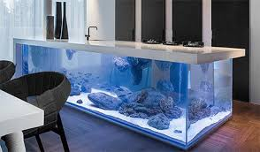 kitchen centre island kitchen island with aquarium
