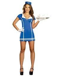 Pan Costume Halloween Forplay Women U0027s Swanky Stewardess Sized Costumes
