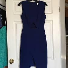 83 off bcbgmaxazria dresses u0026 skirts royal blue bcbg annabel