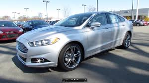2014 Fusion Sport 2013 Ford Fusion Titanium 2 0t Start Up Exhaust And In Depth