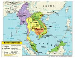 Map Of South India by Map Of South East Asia You Can See A Map Of Many Places On The