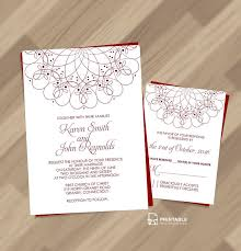 E Wedding Invitations 210 Best Wedding Invitation Templates Free Images On Pinterest