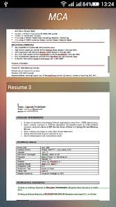resume formats download android apps on google play