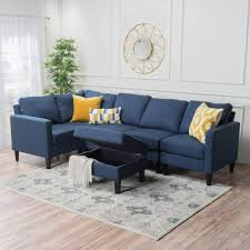 Sectional Couch With Ottoman by Carolina Fabric Sectional Couch With Storage Ottoman U2013 Gdf Studio