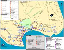 map of mackinac island mackinac island trails historic locations and attractions maps