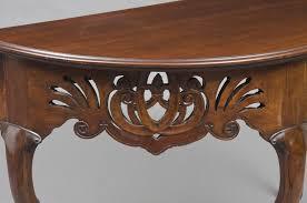 product portuguese demi lune console table