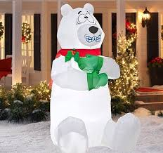 Inflatable Lawn Decorations Polar Best Christmas Inflatables