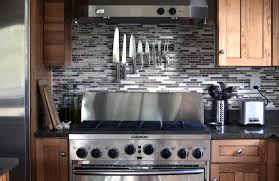 kitchen backsplash peel and stick glass tile white stuning cheap