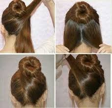 hairstyles with a hair donut buns twist bun and twists on pinterest for donut bun hairstyles