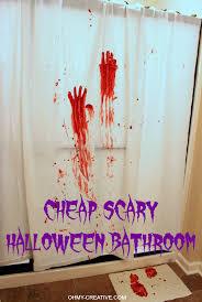 Blood Shower Curtain Scary Bathroom Decor Wwwgalleryhipcom The Hippest Pics Scary