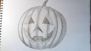 how to draw a pumpkin como dibujar una calabaza halloween stuff