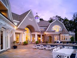 gambrel style homes lake norman residence harrison design