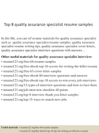 Quality Control Specialist Resume Quality Control Specialist Resume Resume For Your Job Application