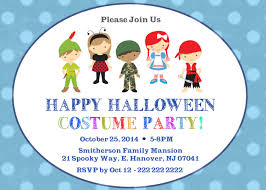 halloween invitations costumes invitations u2013 festival collections