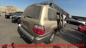 used lexus land cruiser for sale 1999 lexus lx470 parts for sale 1 year warranty youtube