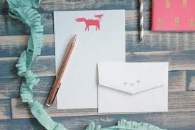 letter writing kits u2013 invited by lamaworks